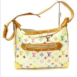 Authentic Louis Vuitton Multicolor Blanc Bag